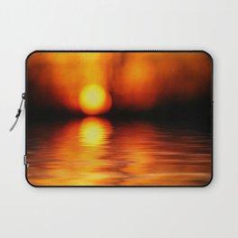 Sunset Abstract Laptop Sleeve