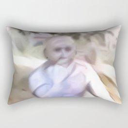 Thinking Anew Rectangular Pillow