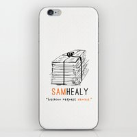 lesbian iPhone & iPod Skins featuring Healy | Lesbian Request Denied | OITNB by Sandi Panda