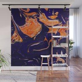 Abstract paint Art Wall Mural