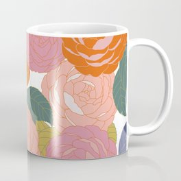 Flowers In Full Bloom Coffee Mug