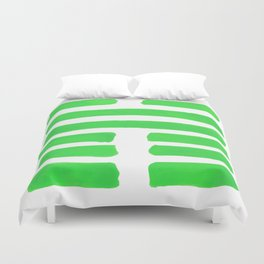 Coming Together - I Ching - Hexagram 45 Duvet Cover