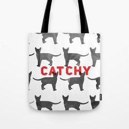Catchy Print Tote Bag