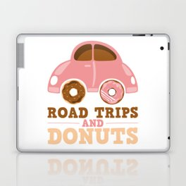 Road Trips And Donuts Laptop & iPad Skin