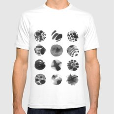 Year of Moons White MEDIUM Mens Fitted Tee