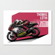 Thomas Luthi - 2007 Losail Canvas Print
