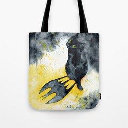 Bat Cat Tote Bag