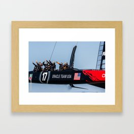 The Win Framed Art Print