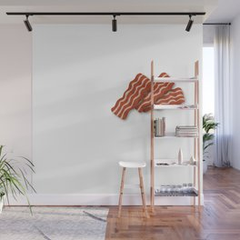 Big data is the new bacon Wall Mural