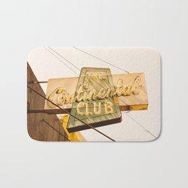 The Continental Club Bath Mat