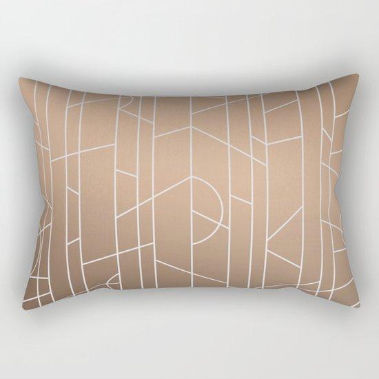 Patternbronze #3 Rectangular Pillow