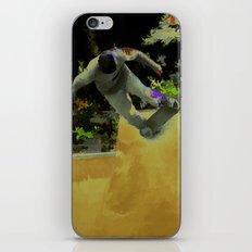 Skateboarding Fool iPhone & iPod Skin