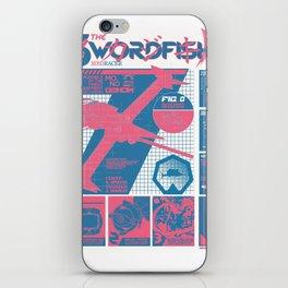 The Swordfish II Manufacturer's Guide (Cowboy Bebop) iPhone Skin