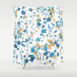 Flicks and Spatters Shower Curtain