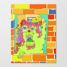 the shocker Canvas Print