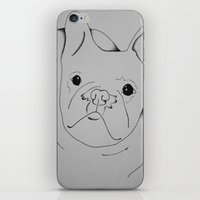 danny ivan iPhone & iPod Skins featuring Ivan by seekmynebula