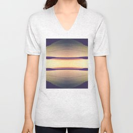Sunset Design Unisex V-Neck