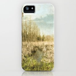 Peace and Solitude.   iPhone Case