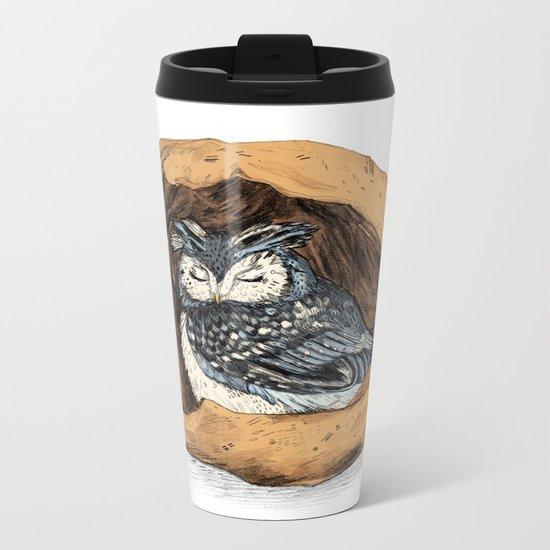 Belly of a Walnut Metal Travel Mug