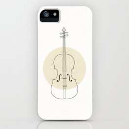 Cello II iPhone Case