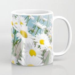 Daisies flowers in painting style 2 Coffee Mug