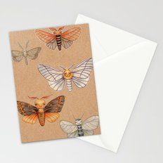 Un-Natural Selection: Wooly Collared Mango Plumosa Stationery Cards