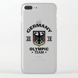Deutschland Clear iPhone Case