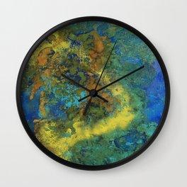 Algal Bloom Wall Clock