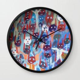 Dead Bunnies Wall Clock