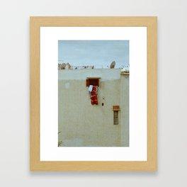 Kasbah Window Framed Art Print