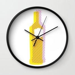 Pop Art Vodka Wall Clock