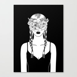 Fake Happiness Canvas Print