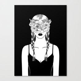 Fake Happiness Canvas Print