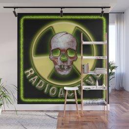 Radioactive Skull Wall Mural
