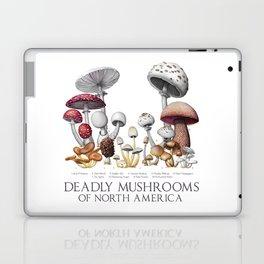 Deadly Mushrooms of North America Laptop & iPad Skin