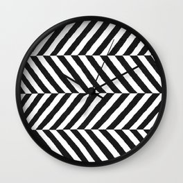 Stripe Graffika  Wall Clock