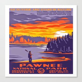 Pawnee National Park Canvas Print