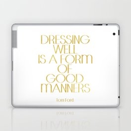Tom Ford Quote Tom Ford Poster Typography Poster Home Decor Wall Art Fashion Quote Fashionista Laptop & iPad Skin