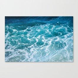 Ocean Waves in Hawaii Canvas Print