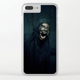 Boogie Horror: Mirror Mask - Attack! Clear iPhone Case