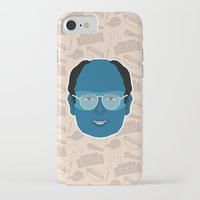 seinfeld iPhone & iPod Cases featuring George Costanza - Seinfeld by Kuki