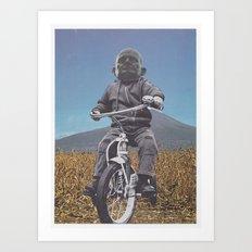 Rascal Mountain God Art Print