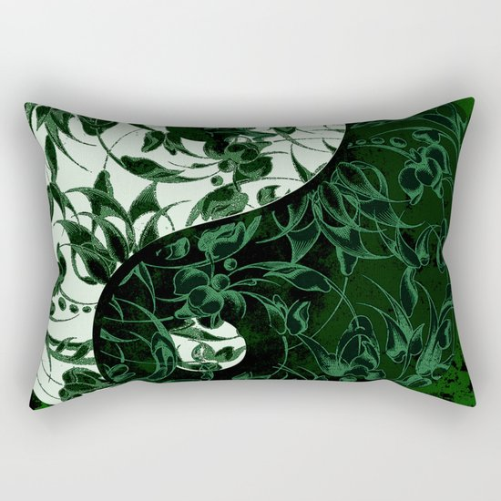 The rebellion of yin yang Rectangular Pillow