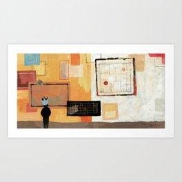 GIANT STEPS Art Print