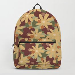 Lost In The Woods - Floral Camouflage pattern Backpack
