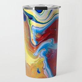 Blue Pour 2 Travel Mug