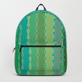 Multi-faceted decorative lines 6 Backpack