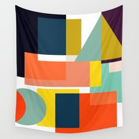 geo Wall Tapestries featuring Geo by Mr and Mrs Quirynen