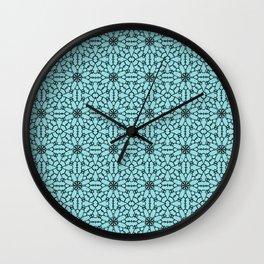 Island Paradise Lace Wall Clock