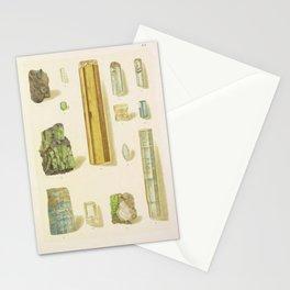 Emerald And Aquamarine Stationery Cards